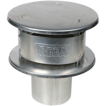 Regenhaube Aluminium 110mm