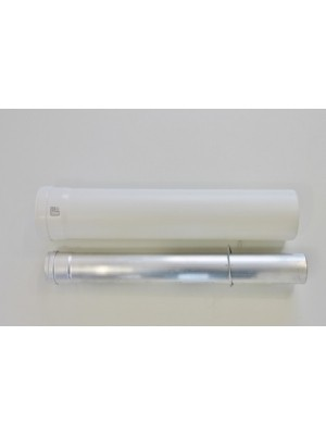 Verlängerung Abgasrohr 500 mm, 60/100 mm