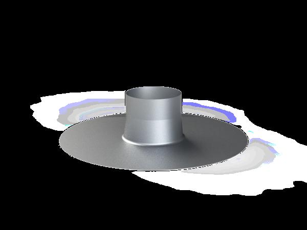 Dachdurchführung für konzentrisches Abgasrohr